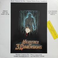 "Harry Manfredini / Michael Zager  ""  Meurtres En 3 Dimensions  "" - Filmmusik"