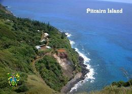 Pitcairn Island Overview New Postcard Pitcairninseln AK - Pitcairn Islands