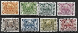 CHINA 1912 YUAN SHIHKAI MINT OG H PART SET 1c To 20c 8 Values - 1912-1949 République