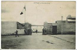 CPA - MAROC - SETTAT -Porte Du Camp  - 1914 - - Andere