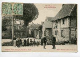 61 LE SAP Villageois Quartier Ancien Chateau Fort Publicité Affiche Dubonnet  1907 écrite Timb   D07 2019 - Otros Municipios