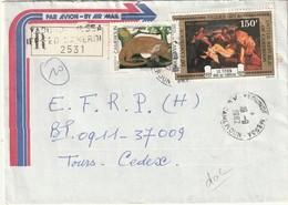 Cameroun - Lettre Avec Timbres - - Cameroun (1960-...)