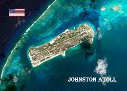 Johnston Atoll Satellite View New Postcard - Postcards