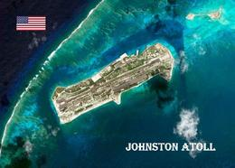Johnston Atoll Satellite View New Postcard - Sonstige