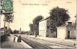 52 MAATZ - La Gare - - Autres Communes