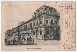 NICARAGUA Recuerdos MANAGUA Palacio Nacional - Nicaragua