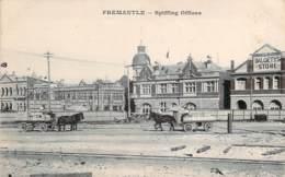 Australie - Fermantle - Spiffing Offices (messageries Maritimes) (Dalgety's Store) (attelage) - Fremantle