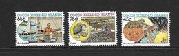 ILES COCOS 1987 ARTISANAT  YVERT N°167/69 NEUF MNH** - Cocos (Keeling) Islands