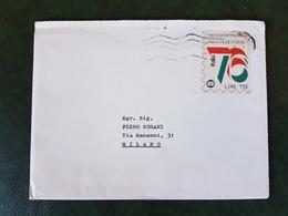 (38431) STORIA POSTALE ITALIA 1976 - 6. 1946-.. Repubblica