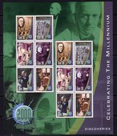 Ireland 2000 New Millenium Sheetlet III, Discoveries, MNH, SG 1300/5 - 1949-... Republik Irland