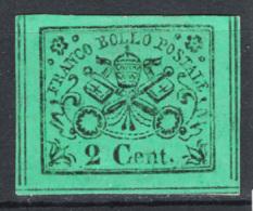 Stato Pontificio 1867 Sass.13 */MH VF/F - Etats Pontificaux