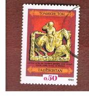 TAJIKISTAN   - SG 1 - 1992  NATIONAL TREASURES: HUNTER  -   USED - Tajikistan