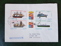 (38439) STORIA POSTALE ITALIA 1977 - 6. 1946-.. Repubblica