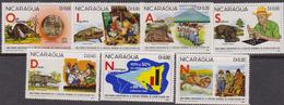 NICARAGUA 1981 UNESCO Alfabetizzazione  - MNH Set - Nicaragua