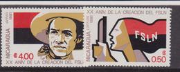 NICARAGUA 1981 FSLN  - MNH Set - Nicaragua