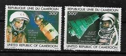 #A27# REP. CAMEROUN MICHEL 957/958 MNH**. SPACE. - Cameroon (1960-...)