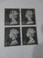 FRANCOBOLLI IN QUARTINA £ 1- 1975   MALTA - Malta