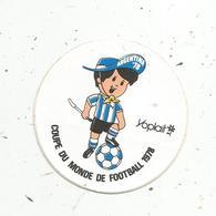 Autocollant , Sports , FOOTBALL , COUPE DU MONDE 1978 ,  ARGENTINA 78 ,  YOPLAIT - Autocollants