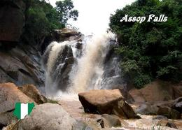 Nigeria Assop Falls New Postcard - Nigeria