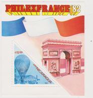 NICARAGUA 1982 Philafrance - MNH Set - Nicaragua