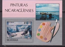 NICARAGUA 1982 Painting Arte Pittuta - MNH Set - Nicaragua