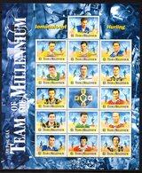 Ireland 2000 GAA Centenary Hurling Team Of The Millenium Sheetlet, MNH, SG 1329/43 - 1949-... Republic Of Ireland