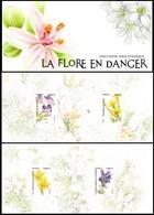 France 2019 Bloc Souvenir - La Flore En Danger 4v MNH / Neuf** - Blocs Souvenir