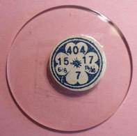 Verres De Montre à Gousset 4,04 Cm (15- 6/6)-(17-14/18)- 7 (Proche Du Neuf Jamais Monté) - Juwelen & Horloges