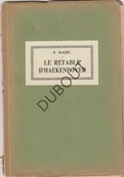 HAKENDOVER/TIENEN Le Retable D'Haekendover - R.Maere 1920 - 32 Pag (N443) - Livres, BD, Revues