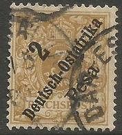 German East Africa - 1896 Numeral 2p/3pf  Fine Used  Sc 6 - Colony: German East Africa