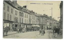CPA 80 AMIENS LA RUE DE BEAUVAIS - Amiens