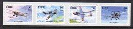 Ireland 2000 Military Aviation Aeroplanes Self-adhesive Strip Of 4, MNH, SG 1368/71 - 1949-... Republic Of Ireland
