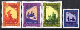Ireland 2000 Christmas Set Of 4, MNH, SG 1373/6 - 1949-... République D'Irlande