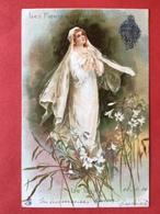 1904 - LE LYS - LES FLEURS QUI PARLENT - BLOEMEN DIE SPREKEN - DE LELIE - Fleurs