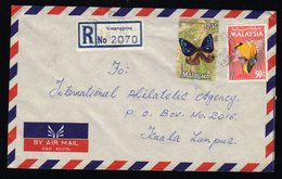 Malaysia Registered Cover From Simanggang To Kuala Lampur 1975 - Malaysia (1964-...)