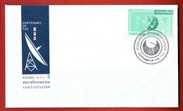 Thailande - N°429  - I.U.T.-  FDC De 1965 - Avec La Carte D'origine à L'interieur. - Thaïlande