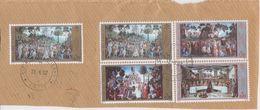 Vatican City 2000 Sixtinischen Kapelle 4v + 1v Used On Paper (42771) - Gebruikt