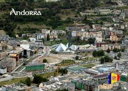 Andorra La Vella Aerial View New Postcard - Andorra