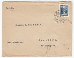 Latvia Letter Cover Travelled 1937 Keldiga To Neustift B190510 - Lettonie