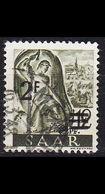 GERMANY Saar [1947] MiNr 0229 ZII ( O/used ) - 1947-56 Allierte Besetzung
