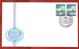 Thailande - N°424  - Année De La Coopération En Paire -  FDC De 1965 - Avec La Carte D'origine à L'interieur. - Thaïlande