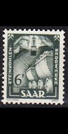 GERMANY Saar [1949] MiNr 0277 ( */mh ) - Gebraucht