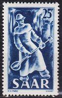 GERMANY Saar [1949] MiNr 0284 ( */mh ) - Gebraucht
