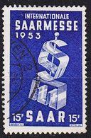 GERMANY Saar [1953] MiNr 0341 ( O/used ) - 1947-56 Allierte Besetzung