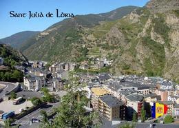 Andorra Sant Julia De Loria Aerial View New Postcard - Andorra