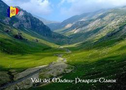Andorra Madriu Perafita Claror UNESCO New Postcard - Andorra