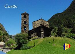 Andorra Canillo Sant Joan De Caselles Church New Postcard - Andorra
