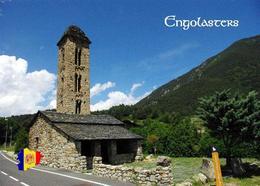 Andorra Engolasters Sant Miquel Church New Postcard - Andorra