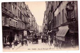 4509 - Paris ( 3e ) - Rue De Bretagne - F.F. - N°1810 - - Arrondissement: 03