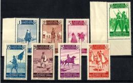 Marruecos Español Nº 169/176 En Nuevo - Maroc Espagnol